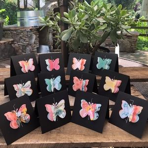 Mini Blank Note Cards-Paradise Crush Color Scheme
